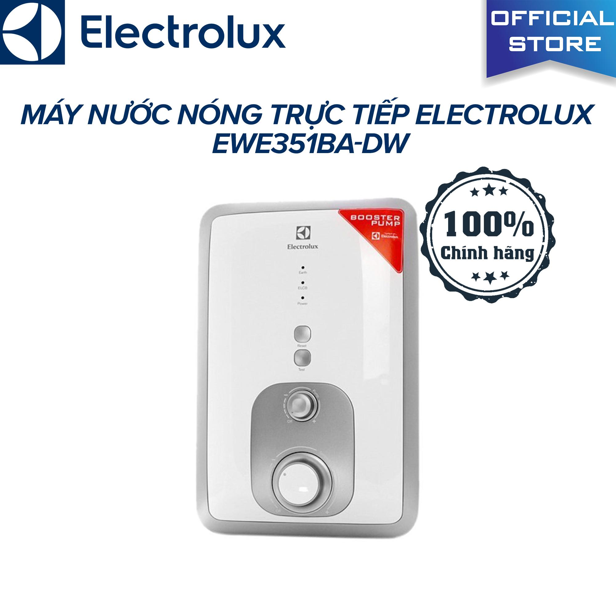 Bảng giá Máy nước nóng trực tiếp Electrolux EWE351BA-DW