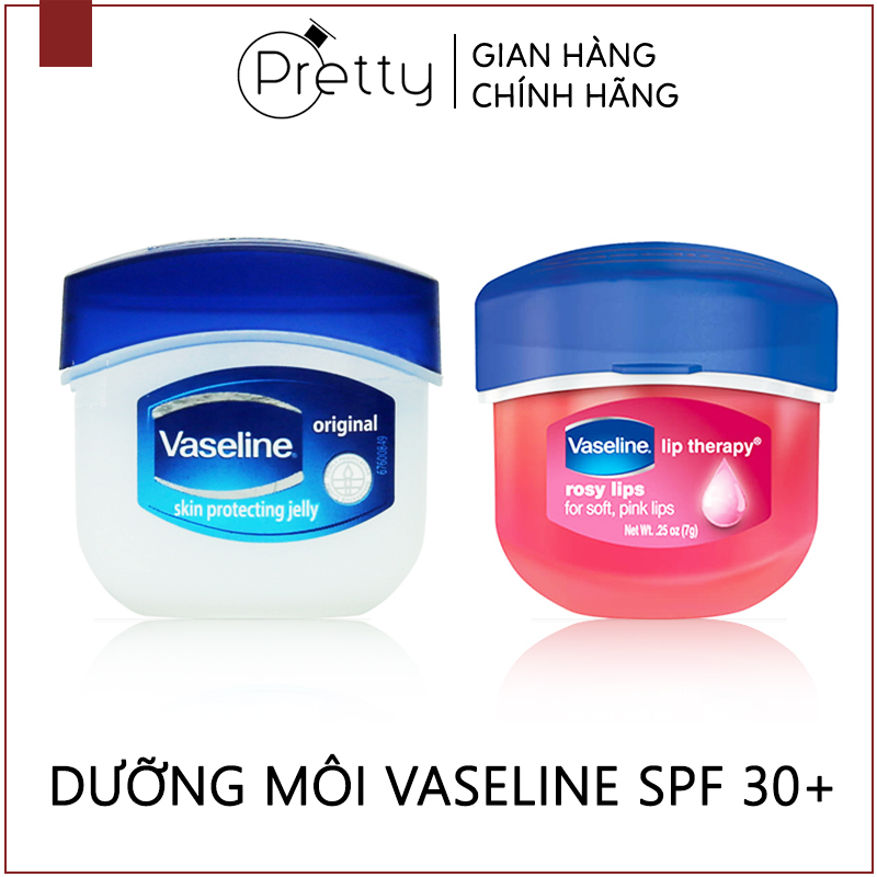 Dưỡng môi VASELINE 7g, hạn chế khô da, tăng độ ẩm, quyến rũ cho đôi môi
