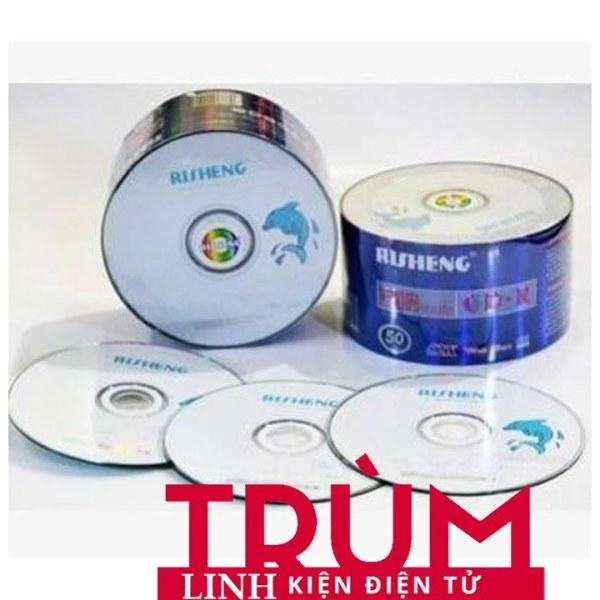 Bảng giá Free Ship- Đĩa trắng CD Risheng 700mb(50C /1 lốc - Hàng Loại Tốt Phong Vũ