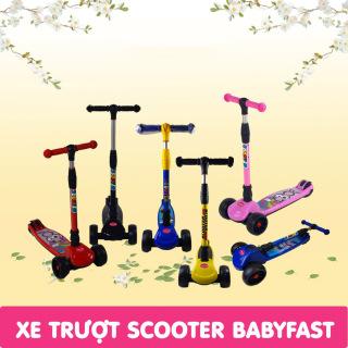 Xe Trượt Scooter, Xe Trượt Scooter Xịn, Thiết Kế Độc Đáo, Chịu Lực Tốt, Chắc chắn, Phù hợp với các bé từ 3-8 tuổi,Xe trượt Scooter 3 bánh thể thao- xe trượt cho bé có thể gấp gọn thumbnail
