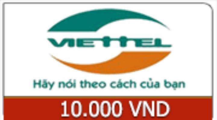 Giá Thẻ Viettel 10k