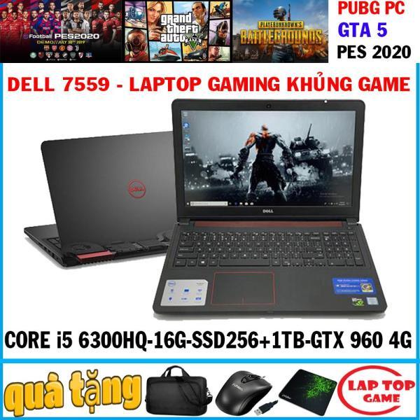 Bảng giá laptop gaming Dell 7559 - khủng game Core i5 6300HQ,ram 16g, ssd 256+ hdd 1tb, VGA GTX 960 4GB, 15.6 inch FHD 1920*1080 Phong Vũ