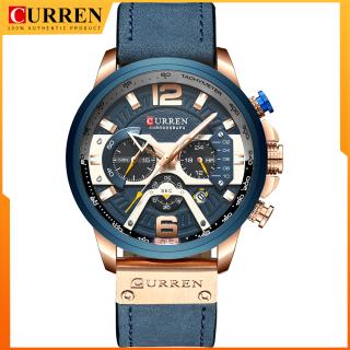 Đồng hồ đeo tay CURREN 8329 cho nam, chống nước 3ATM, động cơ thạch anh, thiết kế đơn giản sang trọng - INTL thumbnail