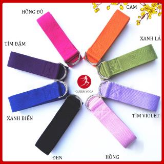 Dây tập Yoga Cotton 1m83 x 3,8cm giá rẻ ảnh thật thumbnail