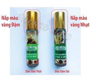 01 Dầu Sâm Green Herb Oil Thái Lan 8ml thumbnail