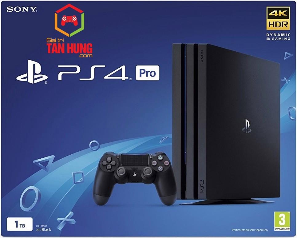 Máy chơi game Sony Ps4 Pro 1T  CUH 7218B