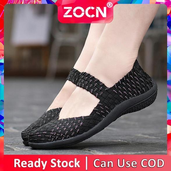 Giày Thường Ngày ZOCN Cho Nữ, Giày Lười, Giày Bệt, Giày Slip-On Ngoại Cỡ 35-42 giá rẻ