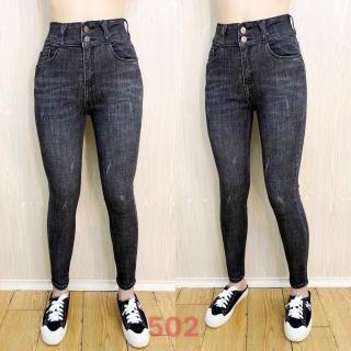quần jean nữ lưng cao cao cấp win 268 màu xám MẪU MỚI 2021 M502 siêu hót phong cách hàn quốc thời trang An Nhien fashion AN794 thumbnail