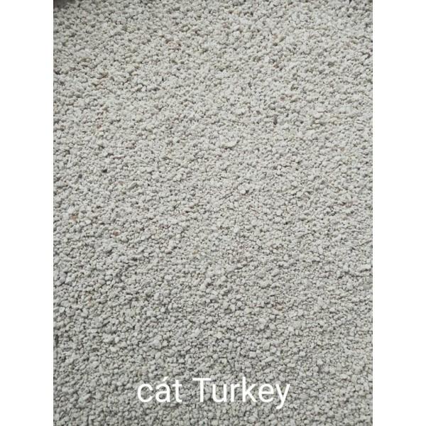 Cát Turkey - thổ nhĩ kỳ (buddy trắng) ít bụi và thơm dành cho hamster/fat tail