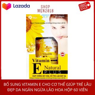 Vitamin dưỡng da 400mg giúp trắng da đẹp da dưỡng hộp 60 viên HSD 2013 thumbnail