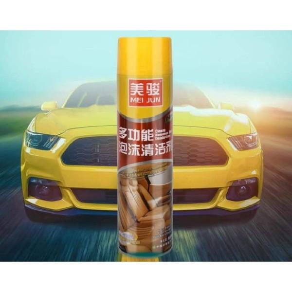 Chai xịt vệ sinh nội thất xe hơi Meijun 650ml.