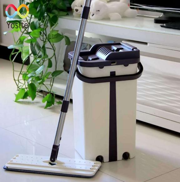 Cây lau nhà tự động vắt và làm sạch thông minh