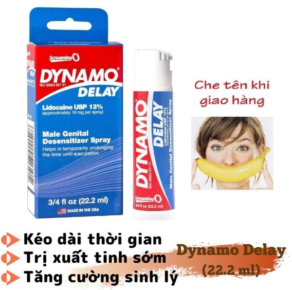 Chai xịt DYNAMO DELAY cao cấp (22.2ml) - hàng chính hãng