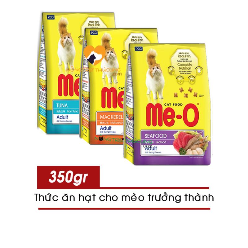 [HCM]Thức Ăn Hạt Cho Mèo Lớn ME-O gói 350g - Nhều vị - [Nông Trại Thú Cưng]