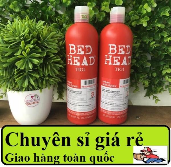 Bộ dầu gội xả Tigi Bed Head phục hồi cấp độ 3 750ml + 750ml giá rẻ