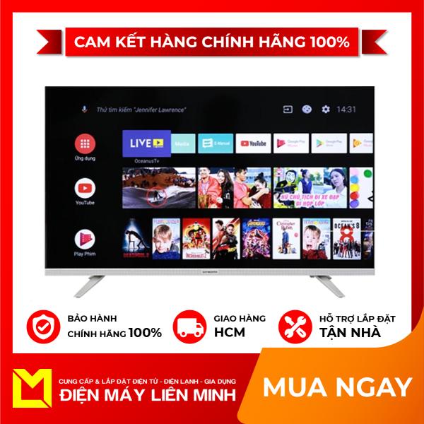 Bảng giá TRẢ GÓP 0% - Android Tivi Skyworth 32 inch 32E6, Hệ điều hành:Android 8.0, HD, Tìm kiếm bằng giọng nói (có hỗ trợ tiếng Việt), Trợ lý ảo Google Assistant,
