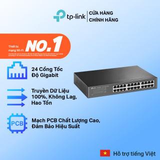 Bộ Chia Tín Hiệu TP-Link TL-SG1024D Switch Gigabit 24 cổng 10/100/1000Mbps - Hãng phân phối chính thức