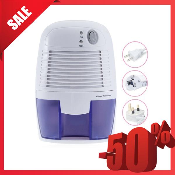 Máy hút ẩm không khí, Máy hút ẩm phòng ngủ, Máy hút ẩm mini Dehumidifier -  Nhỏ gọn, hiệu quả hút ẩm cao giúplàm sạch không khí và ngăn chặn nấm mốc hay vi khuẩn- SALE 50%- BẢO HÀNH UY TÍN