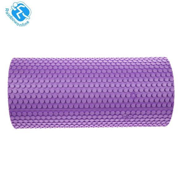 Gym Exercise Fitness Floating Point EVA Yoga Foam Roller Physio Trigger Massage - intl