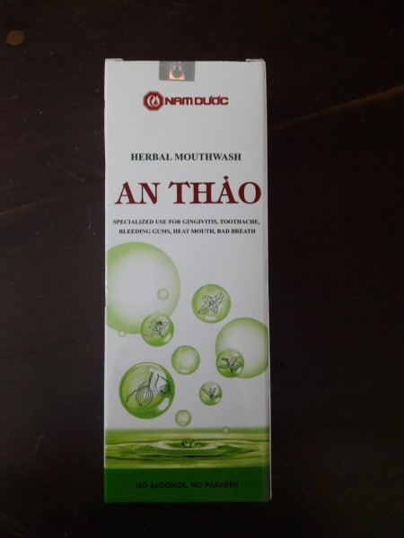 Nước xúc miệng An Thảo 250ml giá rẻ