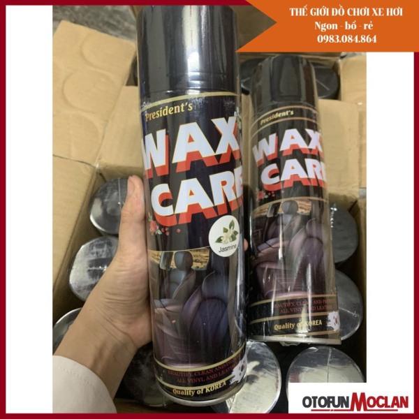 (4 mùi ) Dung dịch Wax Care 3T - Chai xịt bóng đồ da ghế da nội thất đồ gỗ làm sạch làm bóng làm mềm mịn dưỡng bóng
