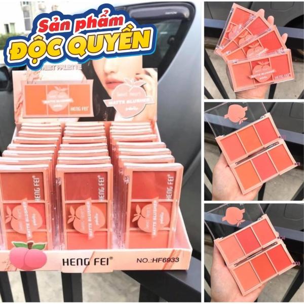 Bảng má hồng 3 ô Hengfei Chuẩn Thái giá rẻ