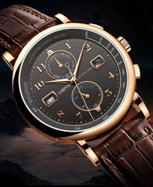 Đồng hồ nam Lobinni No.16001-1