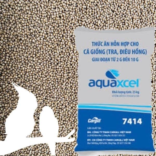 1KG | Cám cá CARGILL 7414 40% đạm cho cá ăn hoặc dùng câu cá,tra,điêu hồng,chép,rô phi