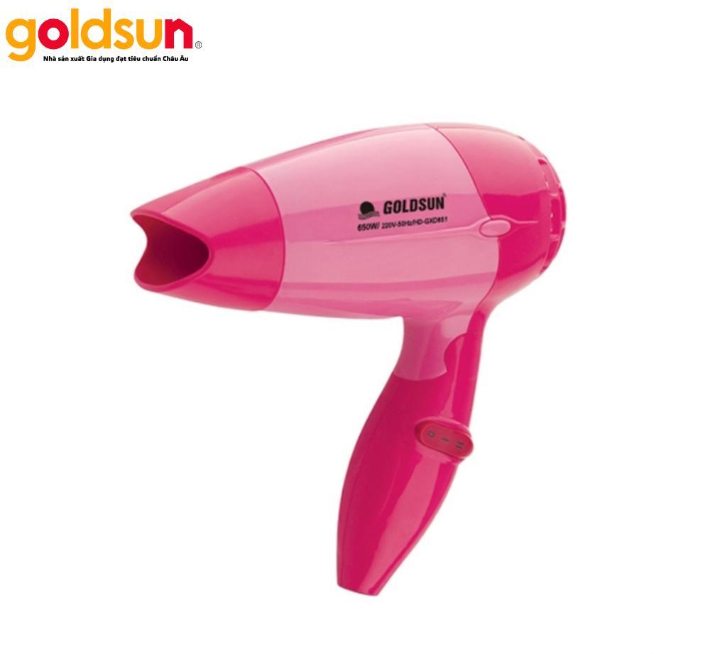 Máy sấy tóc Goldsun HD-GXD851(R) đỏ 650W nhập khẩu