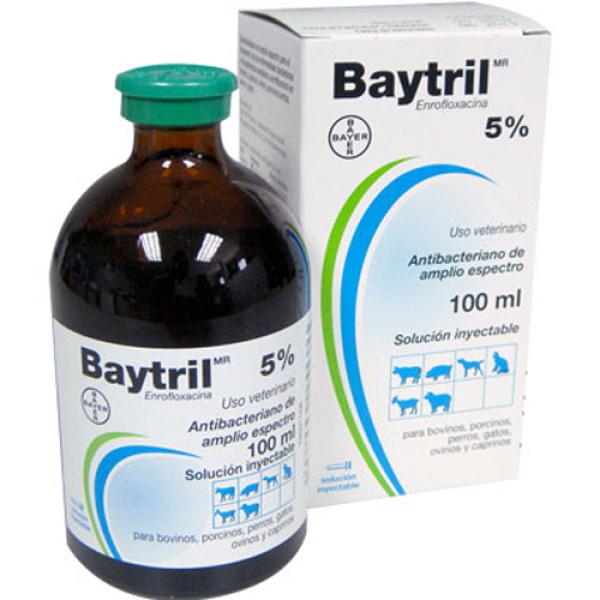 [Giá Rẻ] BAYTRIL 5% - ĐỨC 100ML
