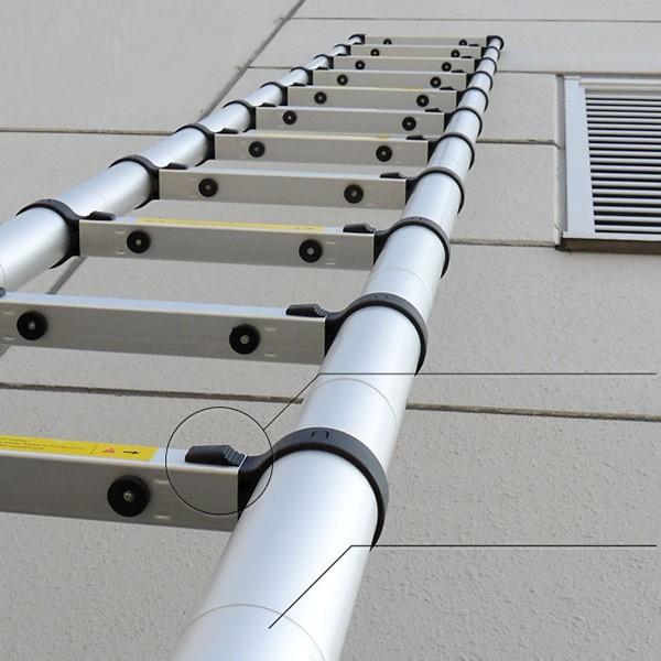 Thang nhôm rút 5 mét 8 [NIKITA] - Tiêu chuẩn Châu Âu chính hãng - R58