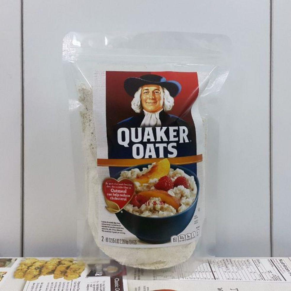 Giá Cực Tốt Khi Mua Combo 2kg Yến Mạch Quaker (dạng Cán Mỏng)