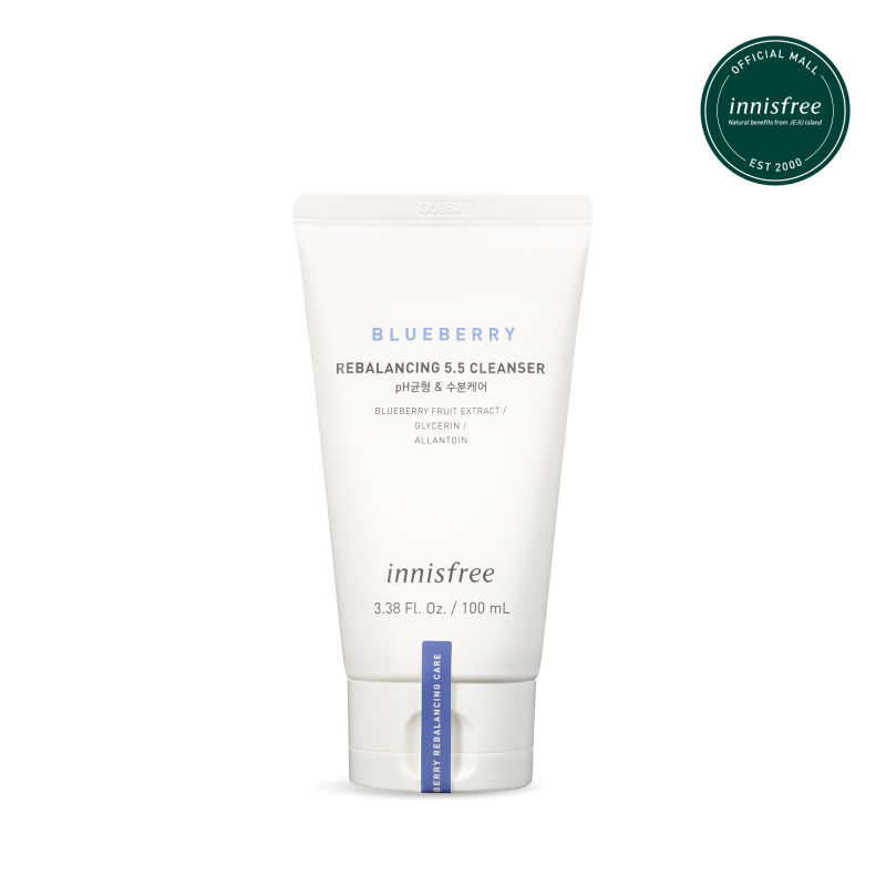 Sữa rửa mặt từ Blueberry Innisfree Blueberry Rebalancing 5.5 Cleanser 100ML giá rẻ