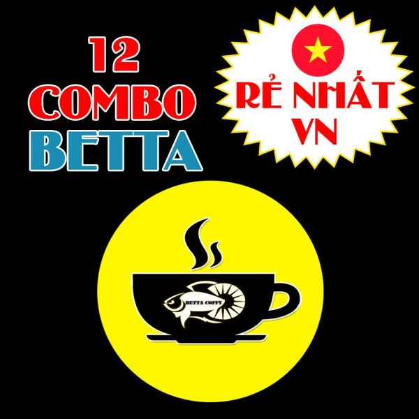 12 COMBO BETTA FOOD - BETTA COFFY ☕️ Thức ăn cho cá