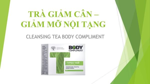 TRÀ THẢO MỘC CLEANSING TEA BODY COMPLIMENT