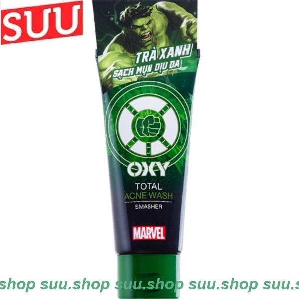 Sữa Rửa Mặt Nam 100G Oxy Total Acne Wash TRà Xanh Sạch Mụn Dịu Da giá rẻ