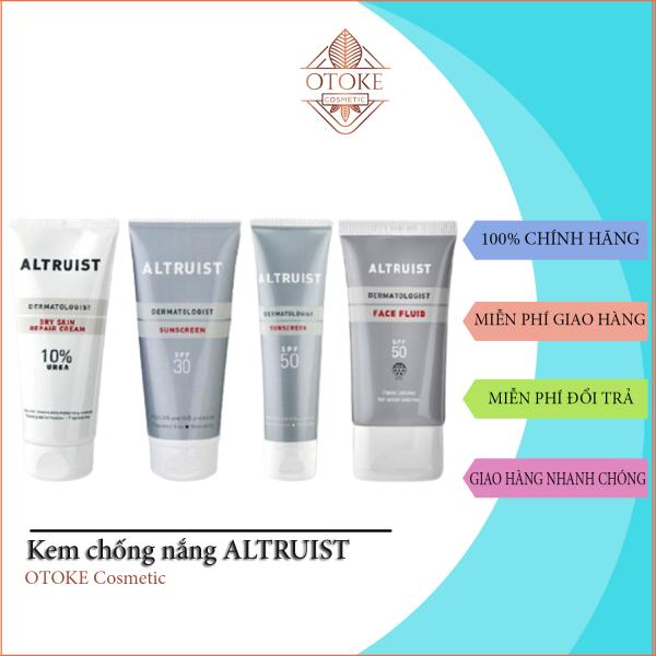 Kem chống nắng Altruist Dermatologist Sunscreen 200ml, Xuất xứ Vương Quốc Anh cao cấp