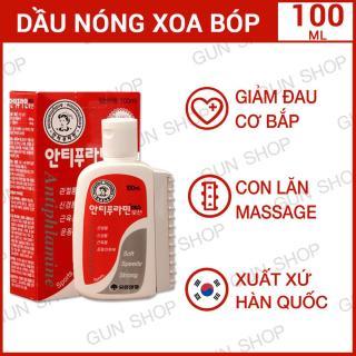 Dầu nóng Hàn Quốc Antiphlamine - Xoa bóp nhức mỏi - 100ML - [GUNSHOP] thumbnail