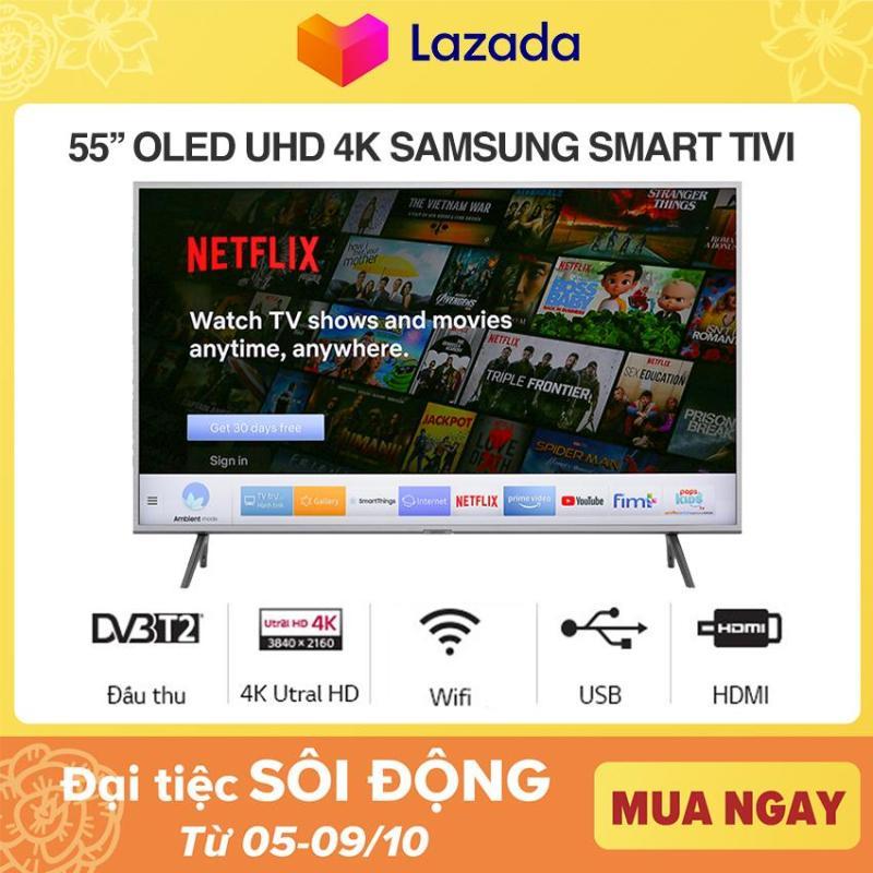 Bảng giá Smart Tivi QLED Samsung 4K 55 inch QA55Q65RA Mẫu 2019