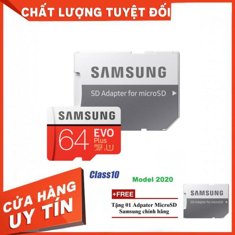 [Hãng Phân Phối Chính Thức] Thẻ Nhớ MicroSDXC Samsung EVO Plus U1 64GB 100MB/s MB-MC64H 2020 - Bảo Hành 5 Năm