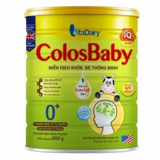 Sữa bột Colosbaby IQ 0+ 800g (Cam kết chính hãng, Date mới) thumbnail