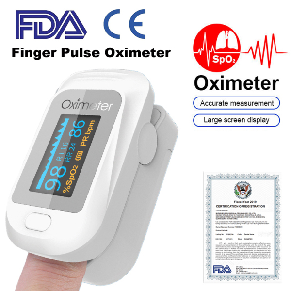 Loyyer Portable Finger Fingertip Pulse Pulse Oximetrys Oximeters Monitor Blood Oxygen Heart Rate Oled Oximetros De Dedo Saturometro Meter Pulse Oximeters Blood Oxygen Monitor Fingertip Rate H2【Shipping Within 24 Hours】【Free Oximeters Bag】