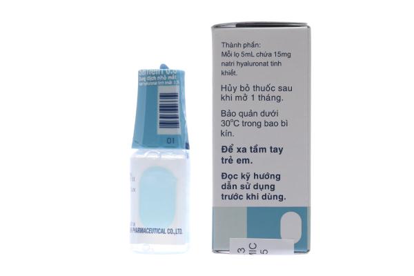 Dung dịch nhỏ mắt Sanlein 0.3% chai 5ml