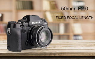 (CÓ SẴN) Ống kính Meike 50mm F2.0 dùng cho Fujifilm, Sony, Canon EOS M và M4 3 thumbnail