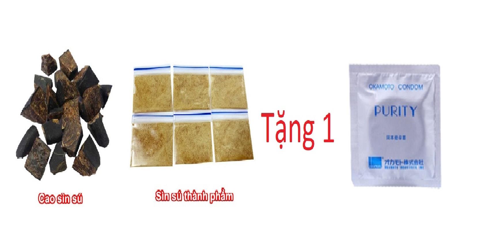 Bột Sìn Sú Tặng 1 Bao OKAMOTO [ 15 lần dùng ]