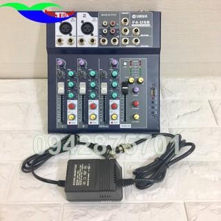 Mixer Max 99 Bluetooth hay Bộ trộn âm chuyên nghiệp hỗ trợ 24 bit có 4 cổng mic kèm màn hình led chạy bluetooth và usb thumbnail