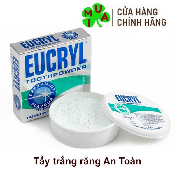 Bột tẩy trắng răng Eucryl 50g Hàng chuẩn Anh Quốc giá rẻ