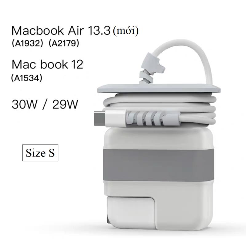 Bảng giá Ốp bọc bảo vệ sạc Macbook đa năng 3 trong 1 Phong Vũ