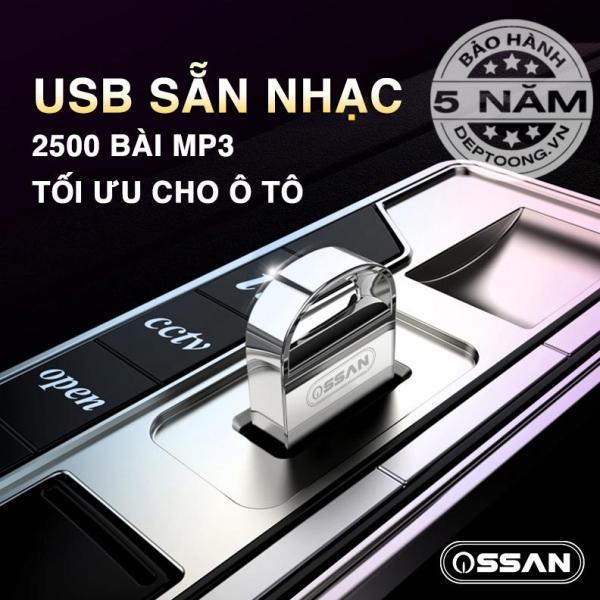 USB 32GB MP3 CHO ÔTÔ CÓ SẴN 2500 BÀI NHẠC MP3 CHẤT LƯỢNG CAO 320kbps