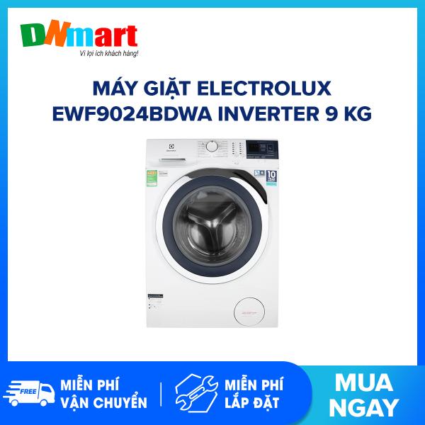 Bảng giá Máy giặt Electrolux EWF9024BDWA Inverter 9 kg 1200 vòng/phút 17 chương trình giặt (Miễn phí vận chuyển và lắp đặt) Điện máy Pico
